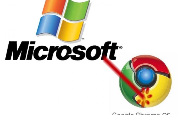 Los portátiles Chromebook de Google reciben ataques de Microsoft.