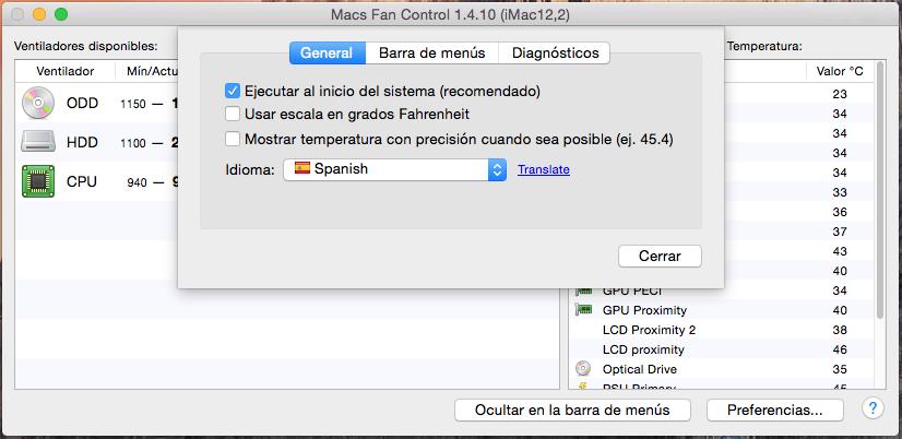 Cómo configurar Macs Fan Control en mi Mac? | TécnicosCLIC